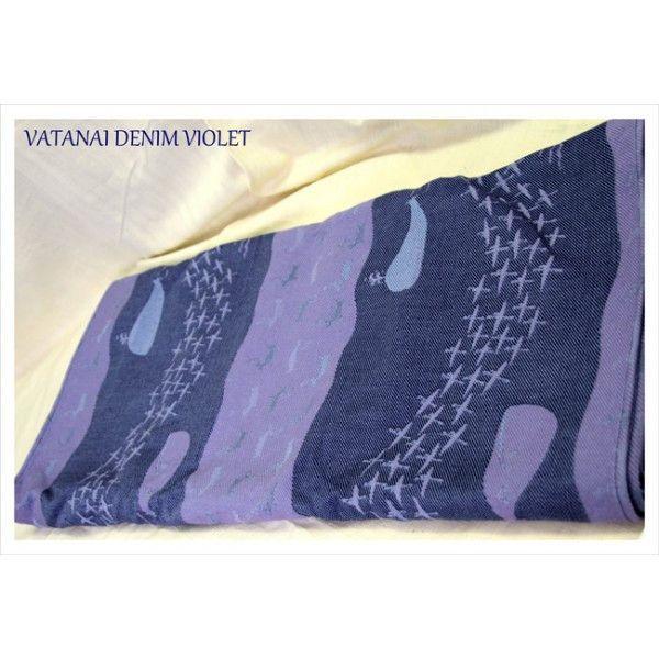Vatanai Violet Denim Whales Woven Wrap Kiddos Pinterest Baby