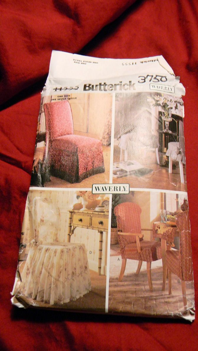 Exceptionnel Sewing Pattern   Waverly Chair Covers   Butterick. $1.50, Via Etsy.