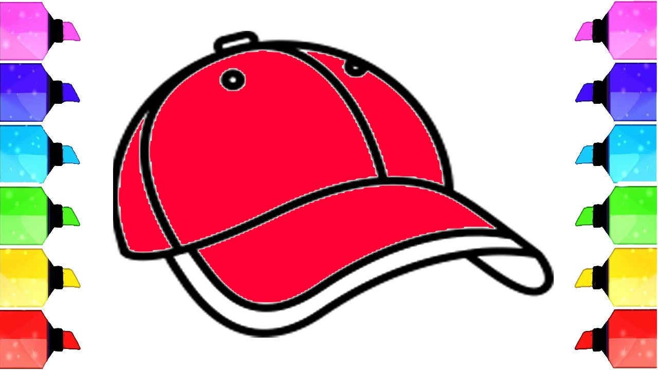 How To Draw A Cap Teaching Kids How To Draw How To Draw A Baseball Cap Drawing Drawings Drawingtutorial Drawi Drawings Ideas Easy Art Lessons Drawings