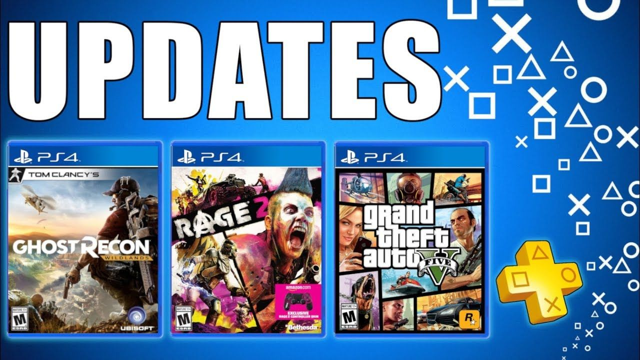 PSN Flash Sale PS PLUS Update FREE PS4 Games PS5