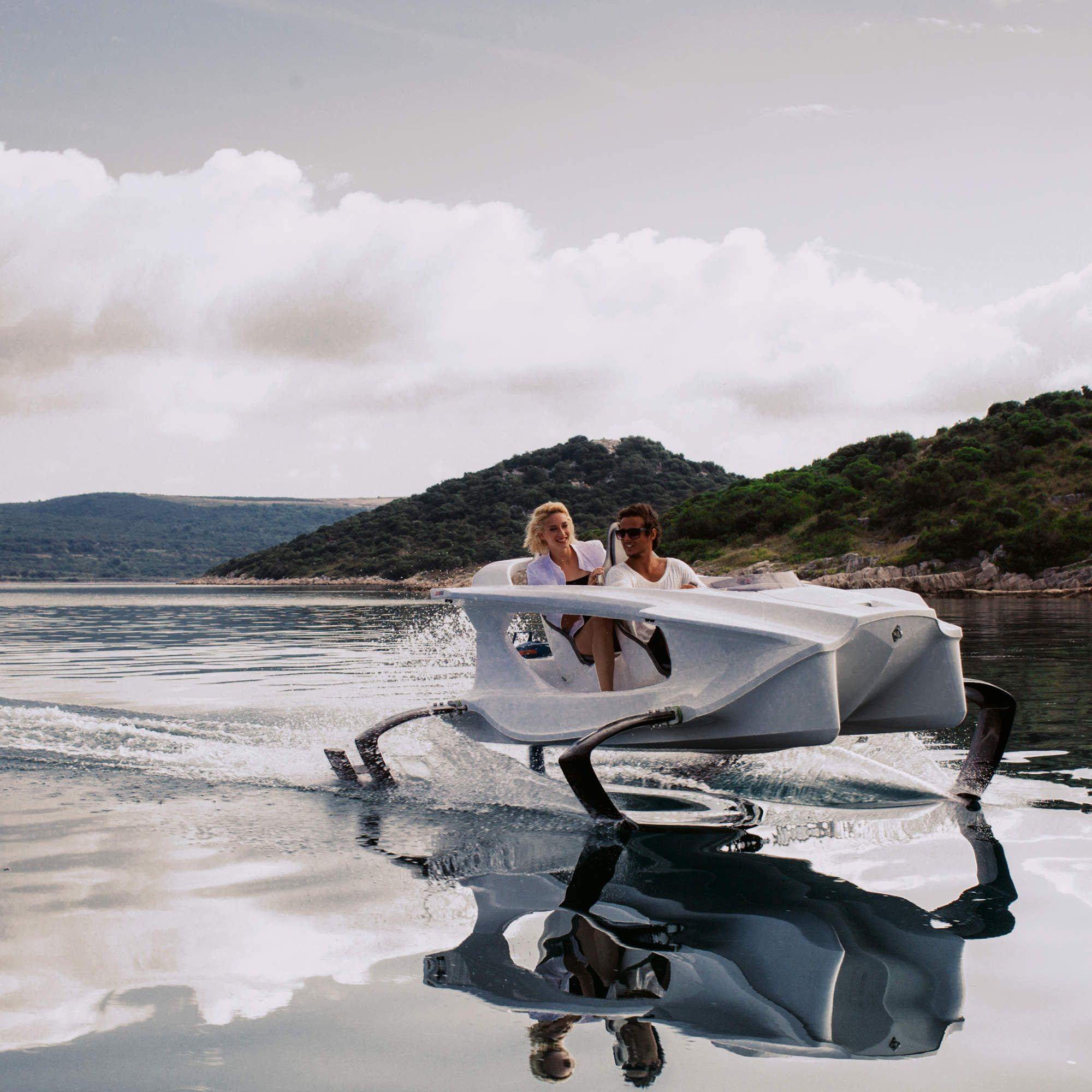 The All Electric Personal Hydrofoil Boat