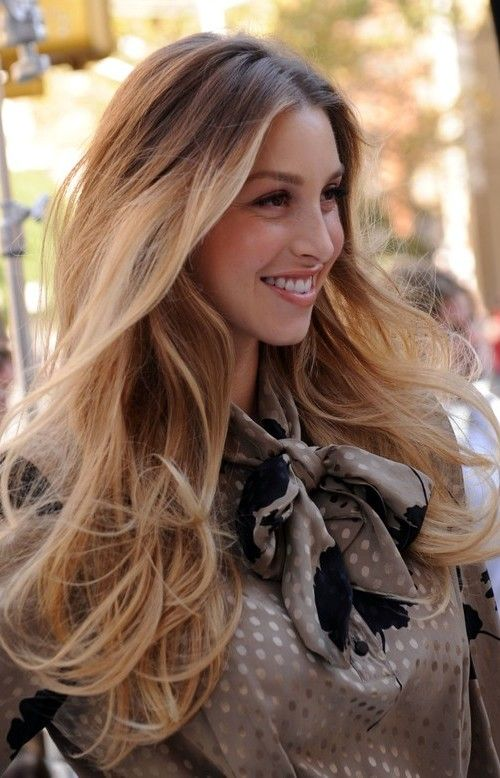 Ombre Hair Color Dark Blonde Light Brown