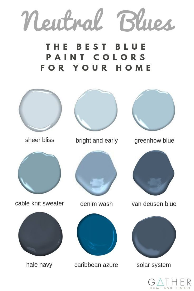 Trend Alert Blue is the New Neutral is part of Paint colors for living room, Blue bathroom paint, Modern paint colors, Bathroom paint colors, Best blue paint colors, Blue interior design - Discover the best blue paint colors for your Home Interior and learn all about how  and why  you should use blue in your home!