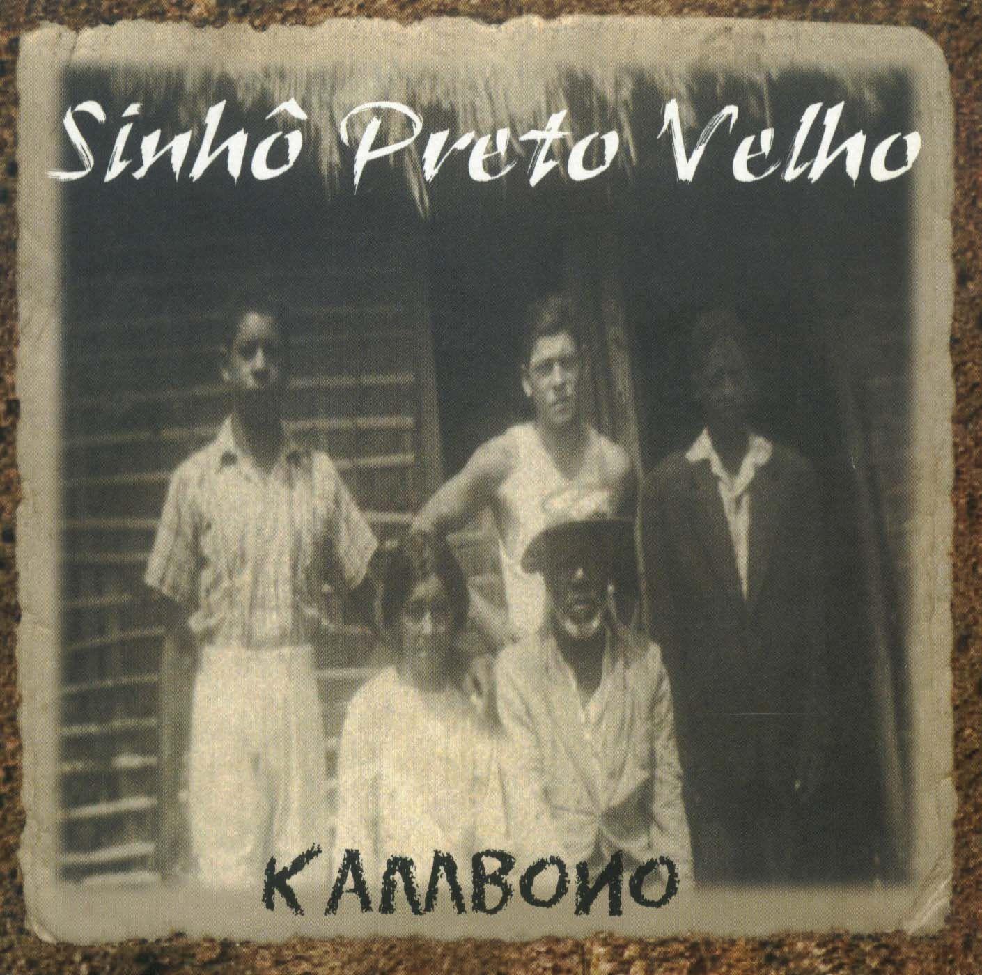 Capa do CD Kambono, de Sinhô Preto Velho