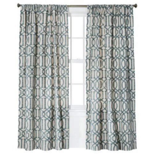 Target Threshold Farrah Lattice Window Curtain Panel Geometric