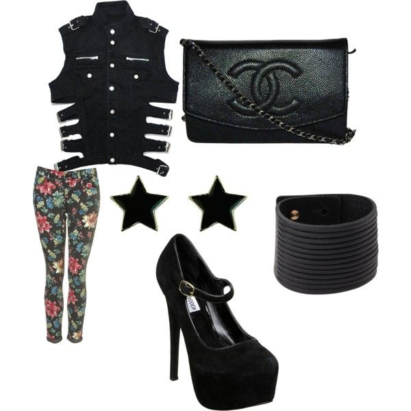 Military Floral, created by betsy-schrader.polyvore.com