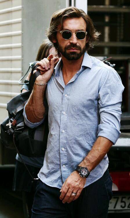 258a0072fa4 Andrea Pirlo Gentleman Style