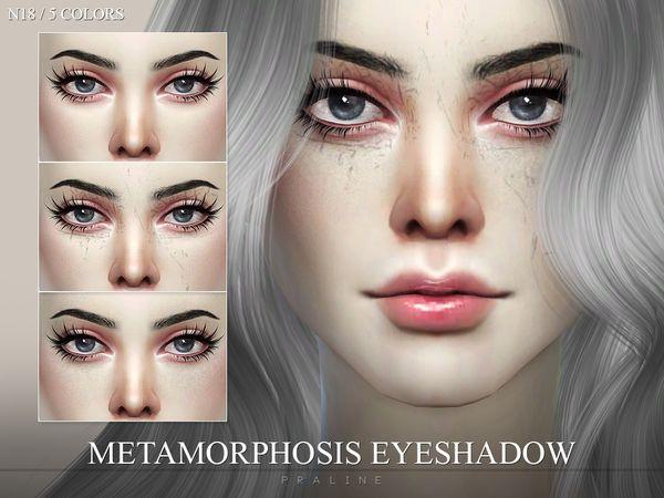 Pralinesims Metamorphosis Eyeshadow N18 Eyeshadow Queen Makeup Metamorphosis