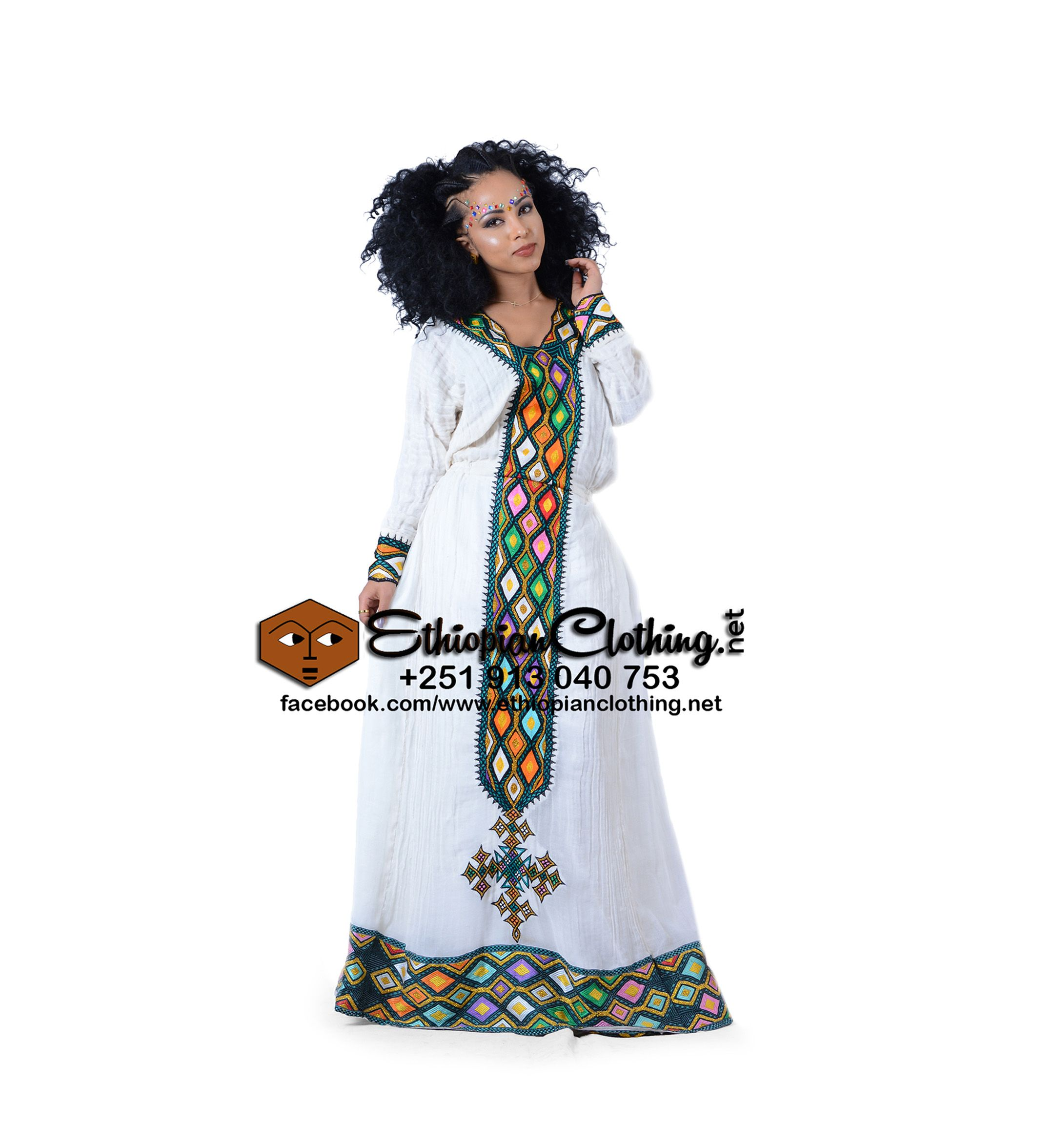 Senait Habesha Dress