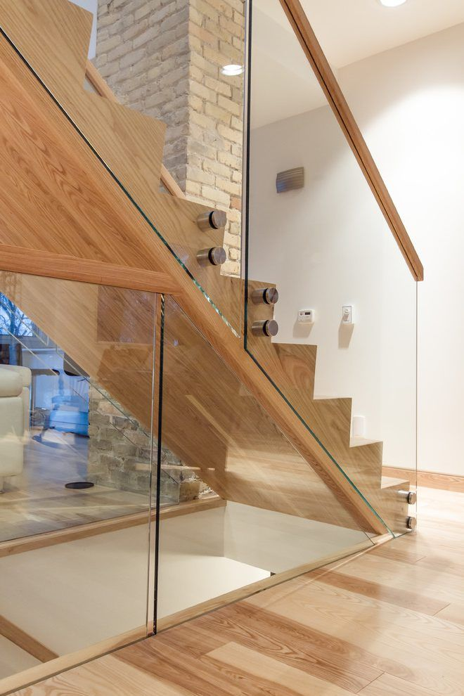 Best Canada Glass Railing Cost Staircase Modern With Stair 640 x 480