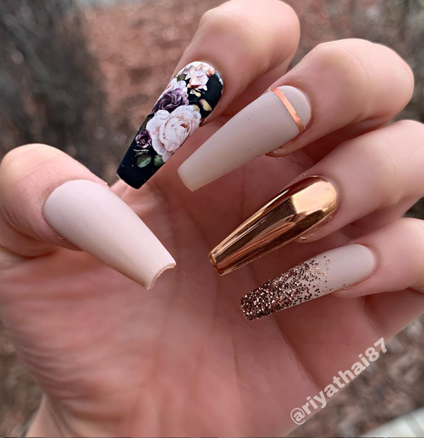 80 Hottest Acrylic Coffin Nails Color For Summer Nails Page 26 Of 84 Latest Fashion Trends For Woman Luxury Nails Long Acrylic Nails Coffin Nails Long