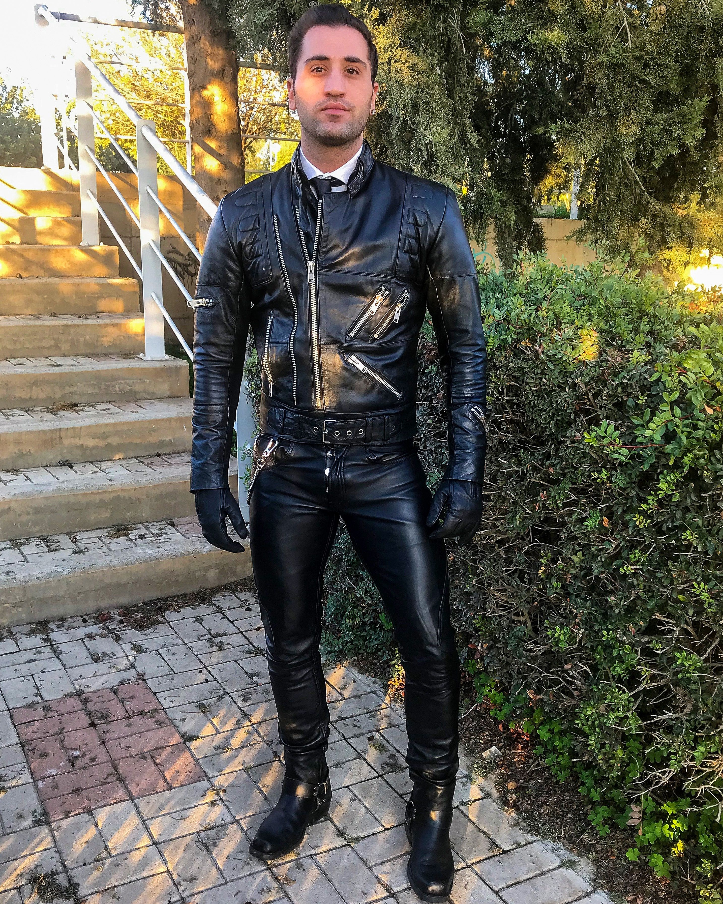 Pin By Lars Andersson On Men Leather Jacket Men Leather Pants Mens Leather Pants [ 3585 x 2868 Pixel ]
