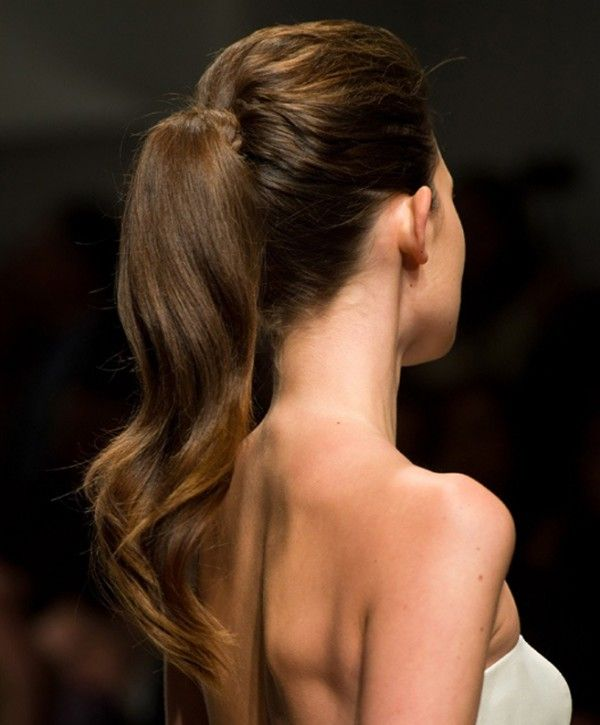 Summer Hairstyle Trends: Sleek Ponytail