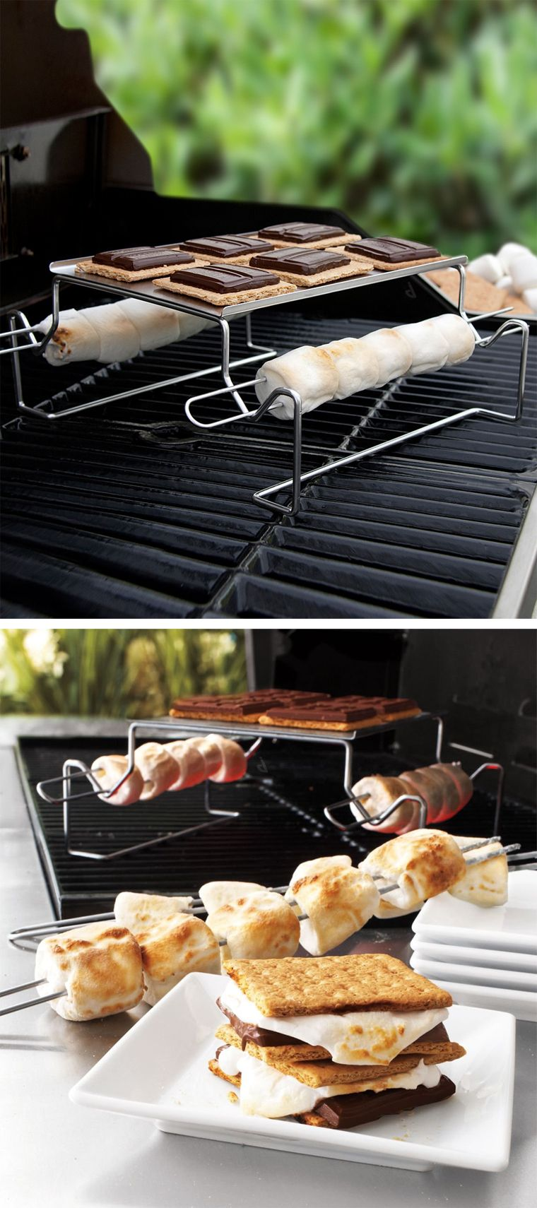 s mores grilling rack awesome product design genius 84637