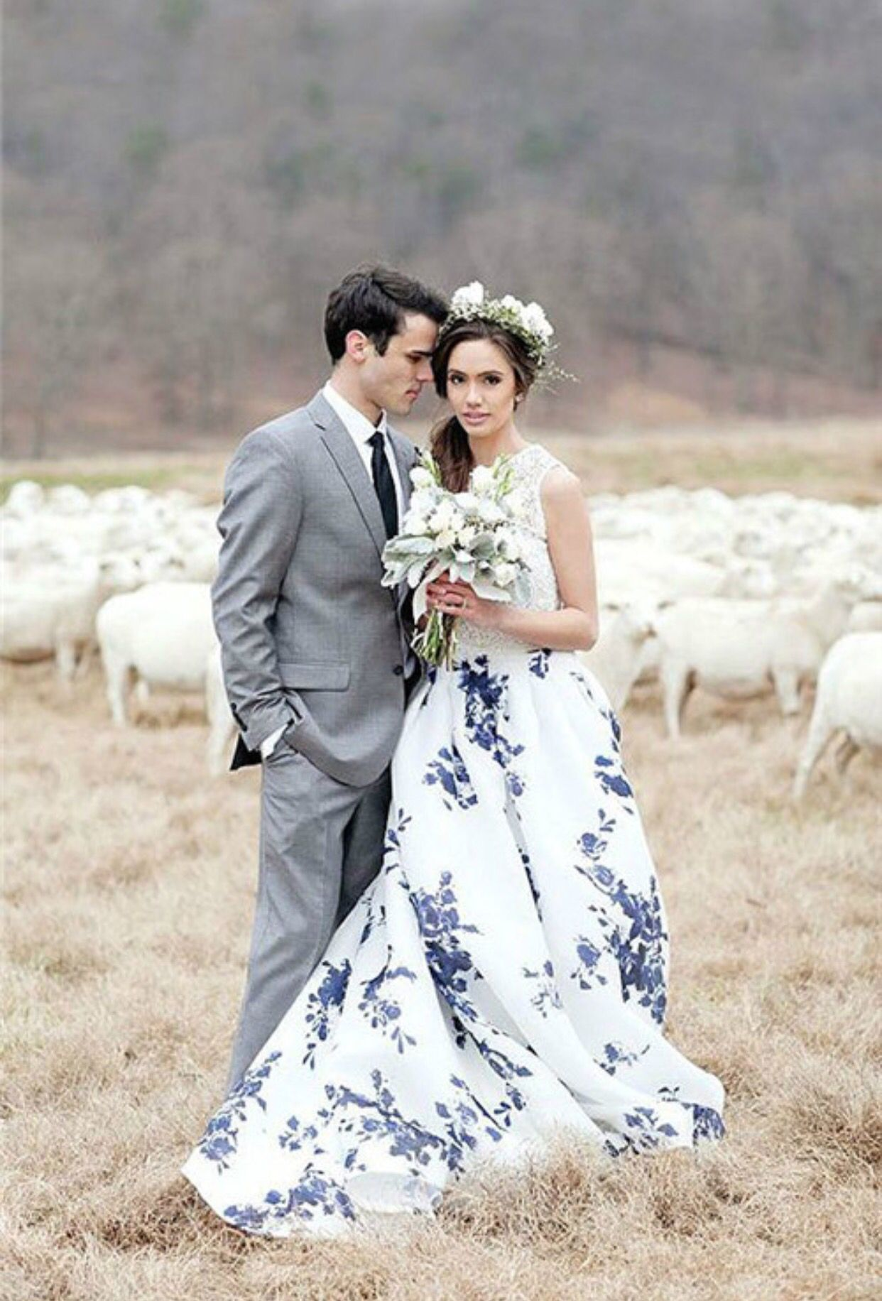 I\'d love to marry with this dress | Brides | Pinterest | Farbig ...
