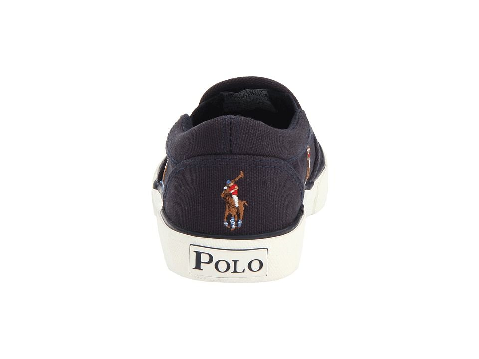 Polo Ralph Lauren Kids Bal Harbour Repeat FA13 (Toddler) Boys Shoes Navy  Canvas/