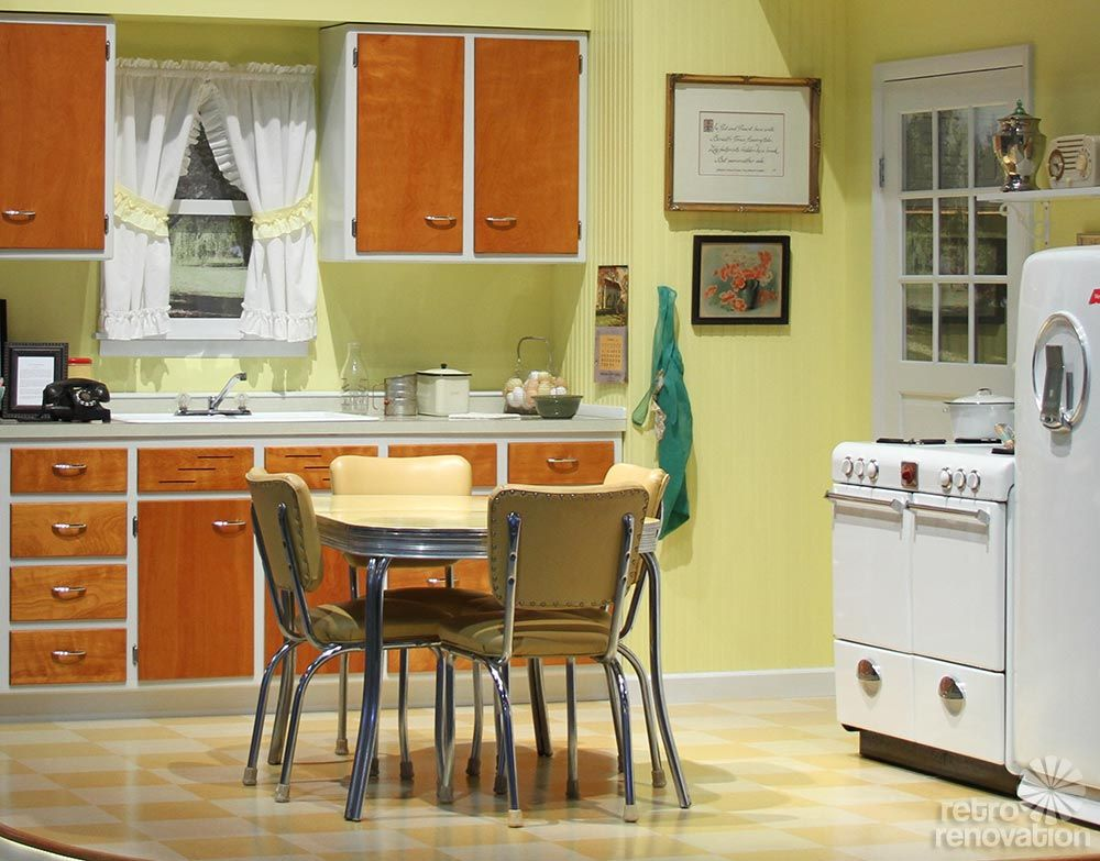 Medium image of 1946 merillat kitchen on display at 2014 kitchen and bath industry show  kbis