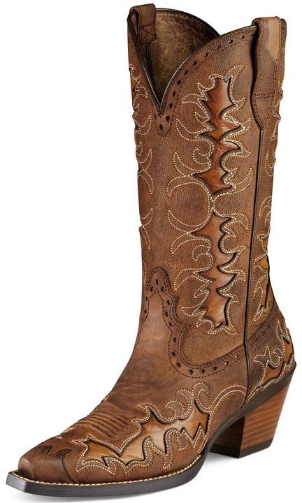 "Ariat Women's Dandy 12"" Cowgirl Boots - Sassy Brown/ Sand Hill Brown $189.97"
