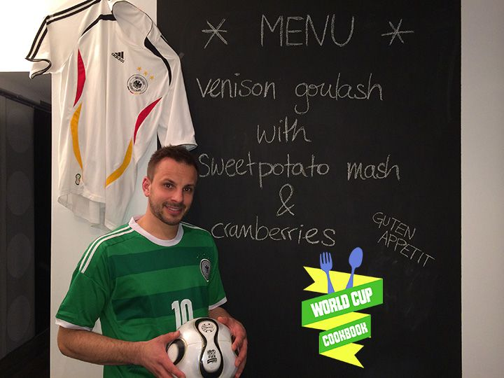 Can't afford to go to the World Cup? You can still immerse yourself in the flavors of the World Cup with the World Cup Cookbook. 32 recipes from each World Cup nation cooked by everyday chefs just like you! #worldcupfood http://worldcupcookbook.com/buy