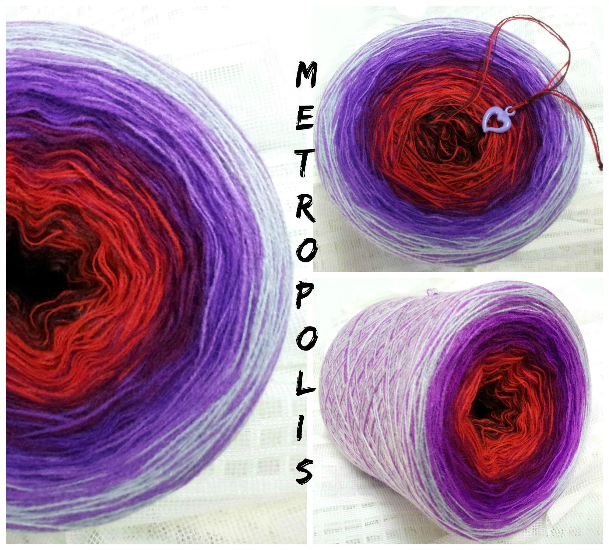Beeindruckend Farbe Beere Galerie Von Metropolis: Hb-acryl 3 Fädig 6 Farben Marone