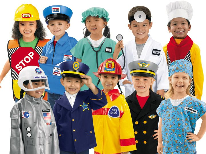 Construction Worker Costume Role Play Kit Set Kids Engineering Dress Up Cloth US
