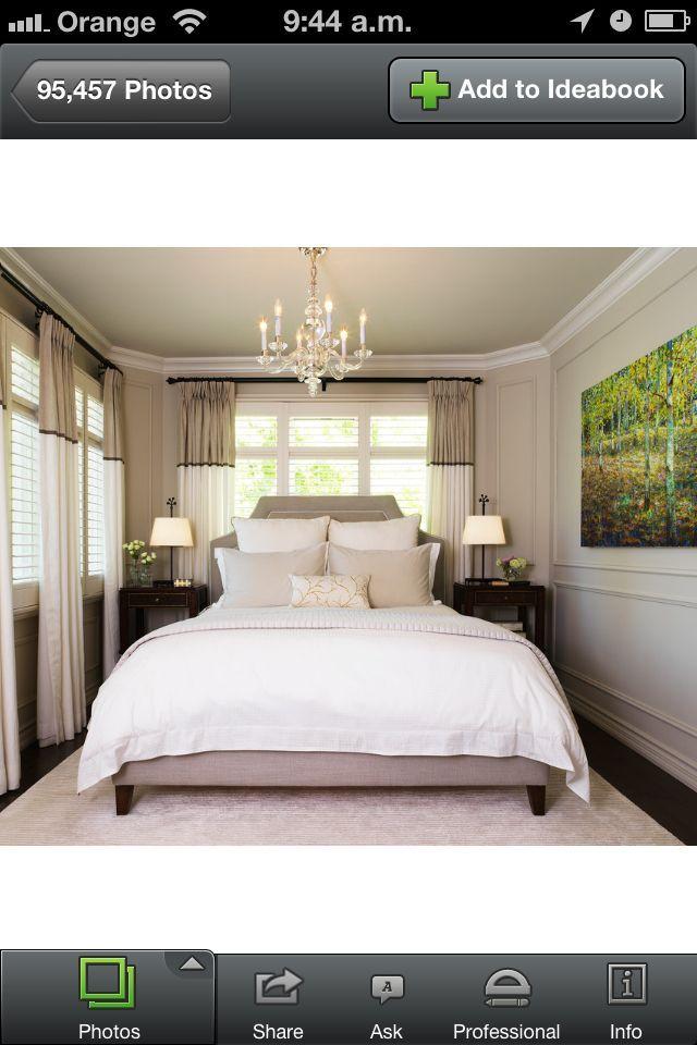 Big Bed Small Room small bed area. big impact | new bedroom | pinterest | bedrooms