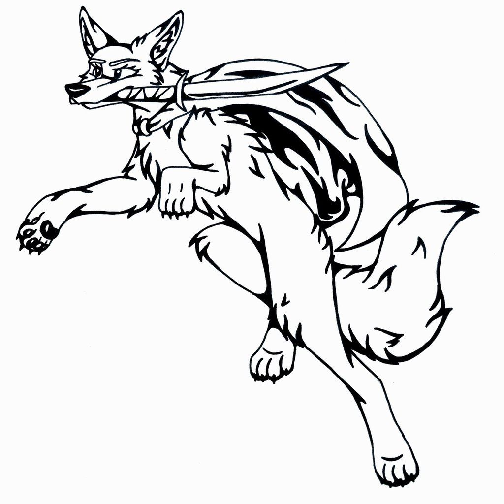 Uncategorized Drawings Of Coyotes tattoo style design coyote attack by starcoyote234 on deviantart deviantart