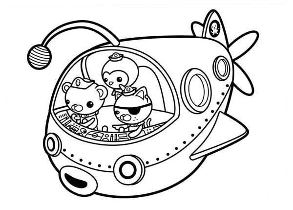 The Octonauts Gup E Super Coloring Pages Online Coloring Pages Coloring Pages
