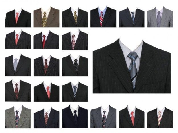 Create Passport size Photo with Coat and Tie[PSD Free Download ...