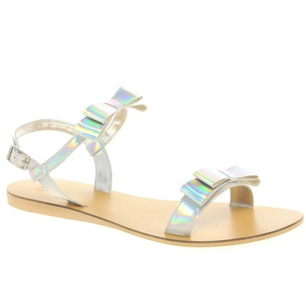 a72de477d5c FLARE Flat Sandals from Picsity.com | shoes | Sandals, Shoes, Bow ...