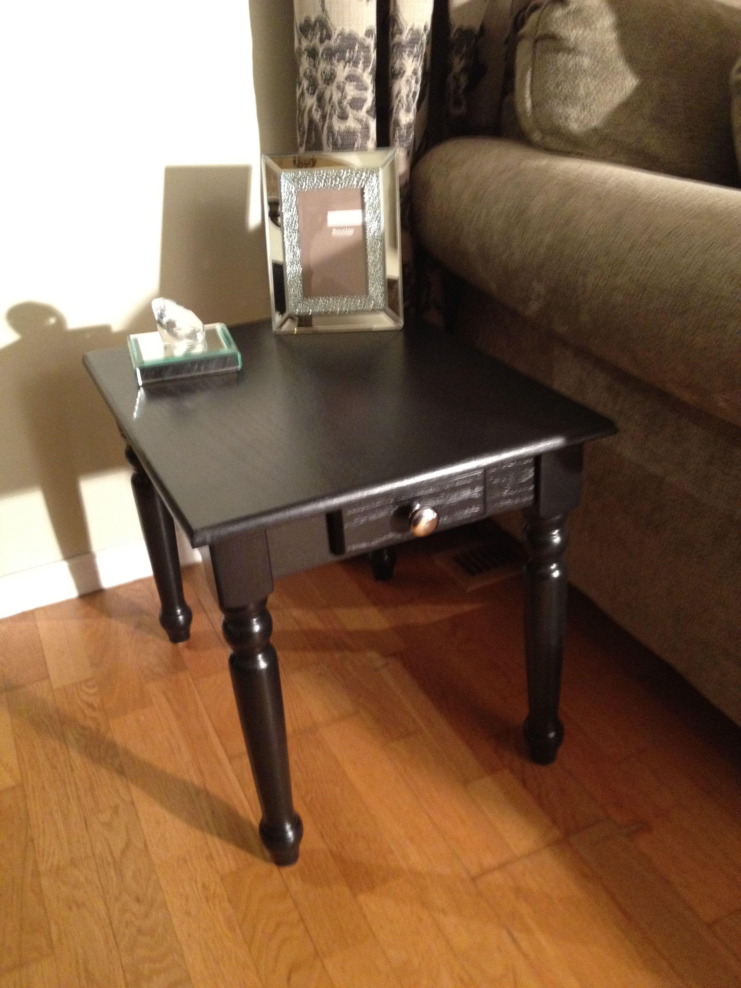 Black Coffee Table Set 2 End Tables Coffee Table Black