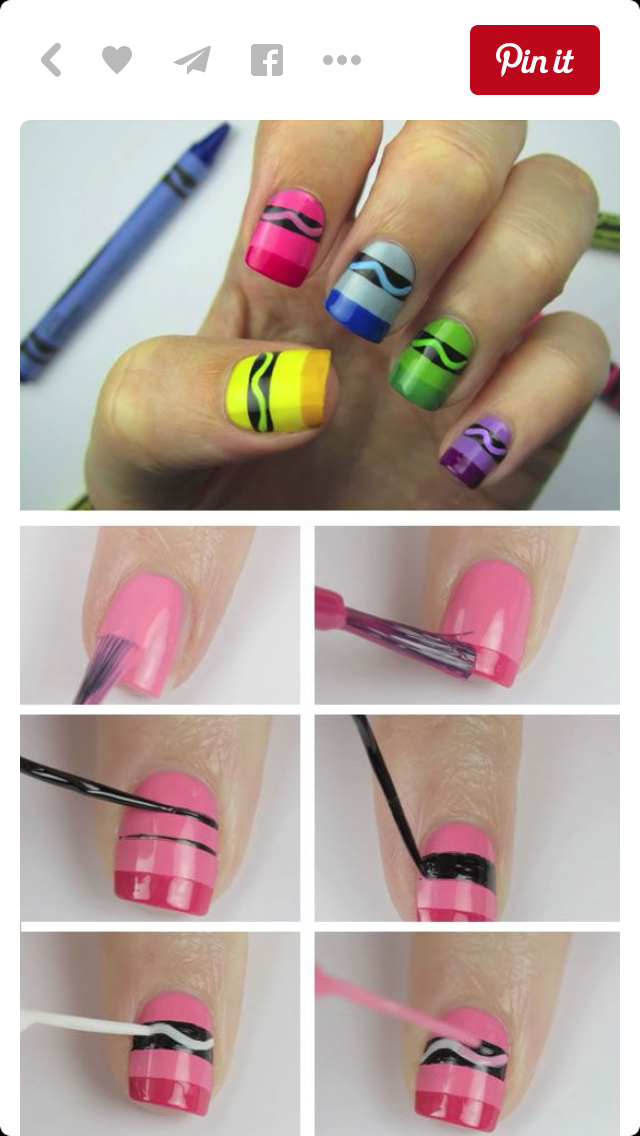 Pin by Kristine Smith on Nails | Pinterest | Makeup, Nail nail and ...