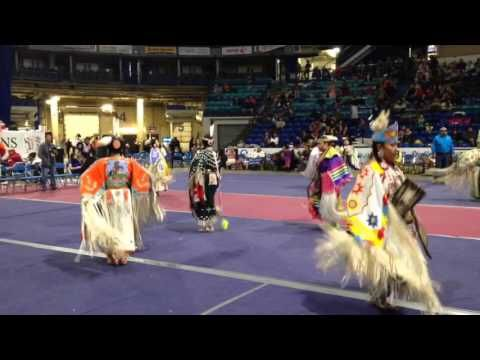 FSIN pow wow 2015 jr women's trad - YouTube REGINA SASK