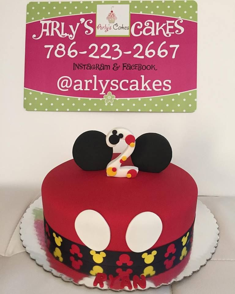 Mickey Mouse Cake For A  Year Old Boy MickeyMouse Cakes - Mickey birthday cake ideas