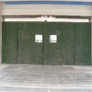 Winter Canvas Door Curtain Winter Curtains Door Curtains