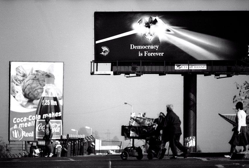 SantuMofokeng/ democracy is forever