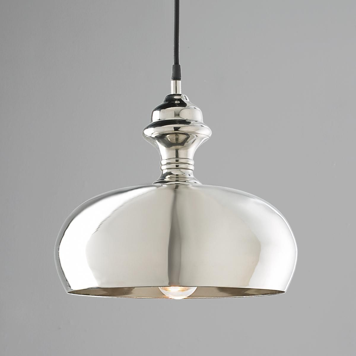 Kitchen Pendants Silver Onion Dome Pendant Light From Shades Of Light 4