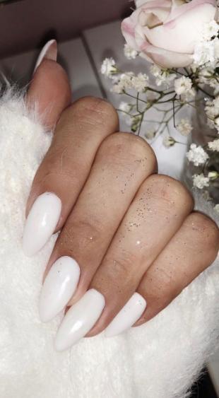 21 Stylish Acrylic Nail Design Ideas 2019 White Whitenail Nail