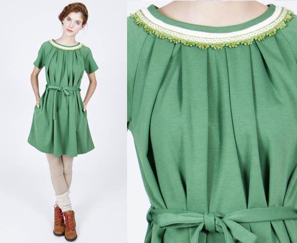 green green dress