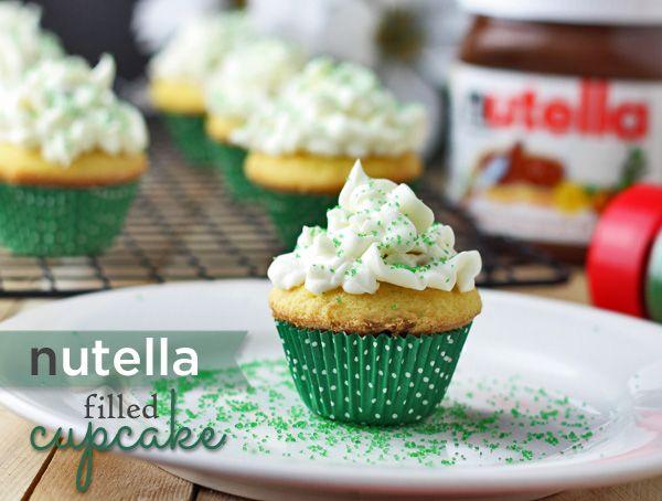 Nutella Lleno Cupcakes