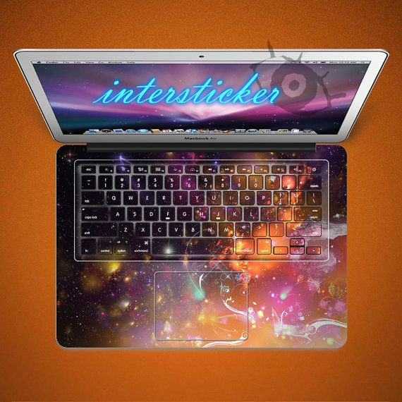this is better, can see the letters on the keys!!   Macbook decal Macbook Keyboard Decal Macbook Pro by inthesticker, $18.99