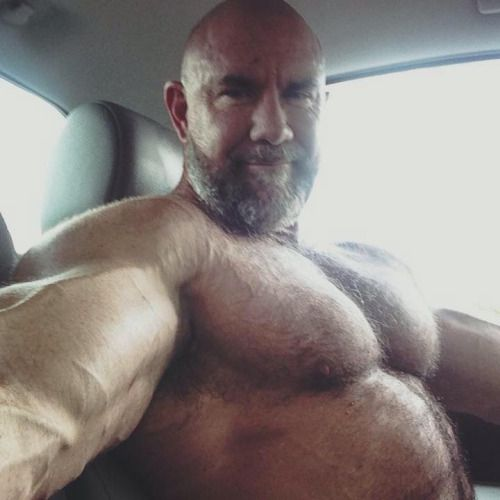 Hairy daddy boy