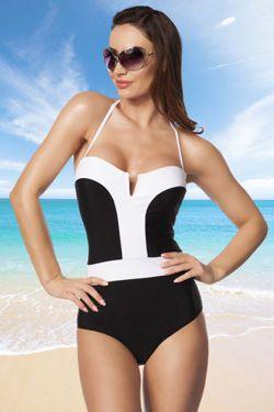 f6bb504b784d46 STRÓJ KĄPIELOWY JEDNOCZESCIOWY monokini retro | Clothing Wishlist ...