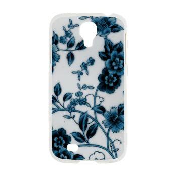Blue Porcelain Flowers Samsung Galaxy S4 Case