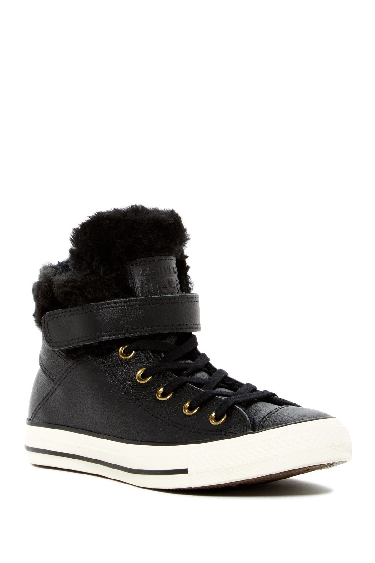 Converse | Chuck Taylor All Star Faux Fur Lined Leather High