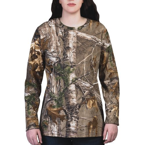 walls women s camo long sleeve t shirt camo clothing on walls insulated coveralls for women id=31995