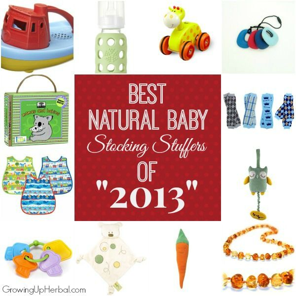 Best Natural Baby Stocking Stuffers Of 2017