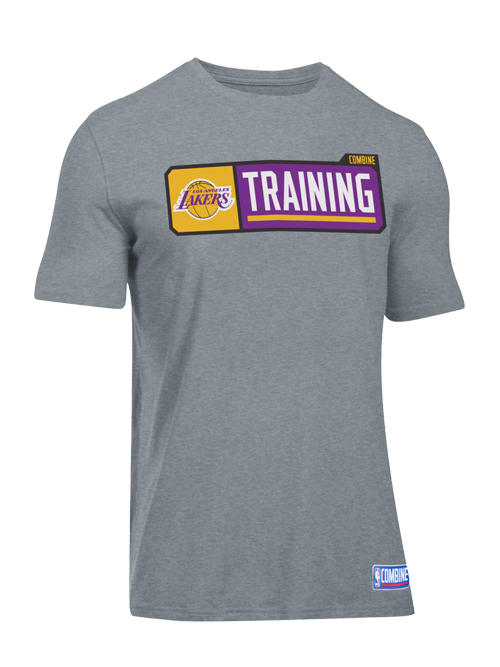 new product d79c6 5c7d5 Los Angeles Lakers Combine Pill T-Shirt | MY TEAMS | T shirt ...