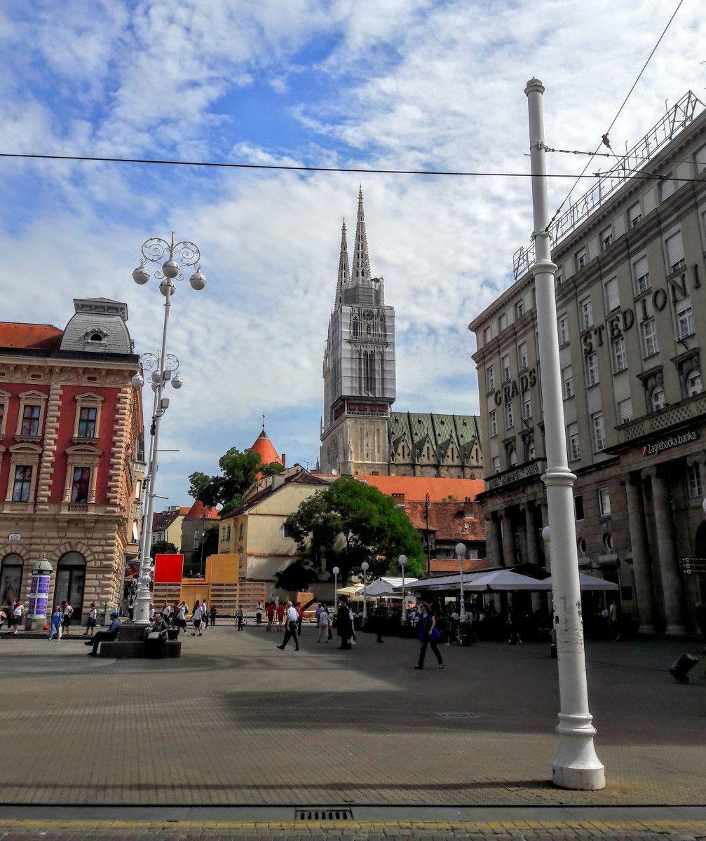 Zagreb Hauptstadt Kroatiens Mein Erster Besuch Zagreb Hauptstadt Kroatien