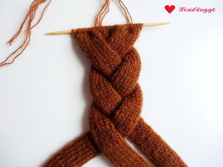 Photo of Instruksjoner: Strikk flettet pannebånd for nybegynnere